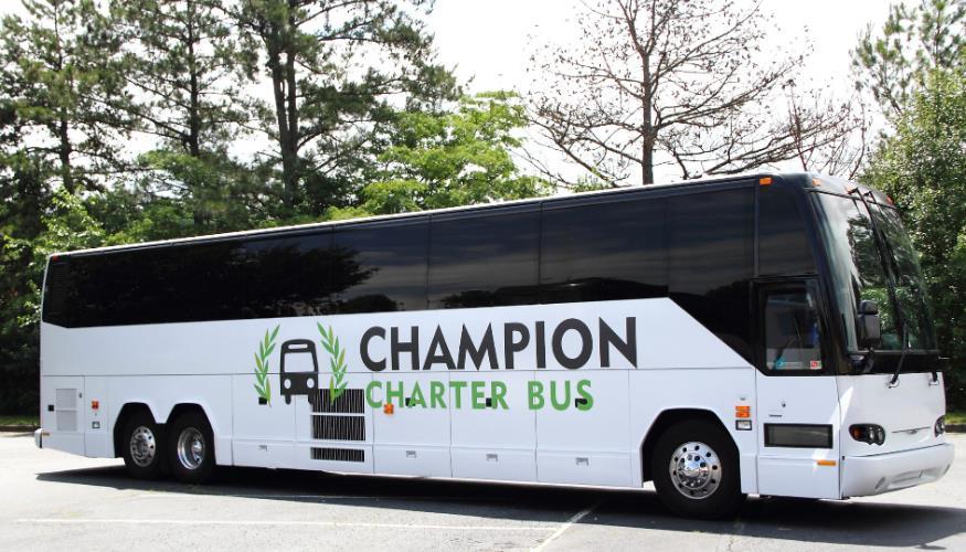 Champion Charter Bus San Francisco